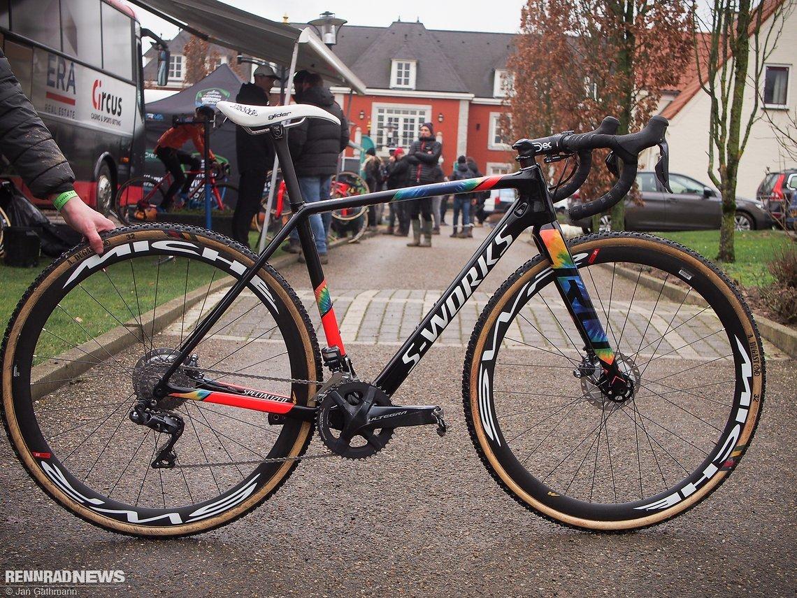 CX Weltmeisterschaft: Das sind die Cyclocross-Bikes der