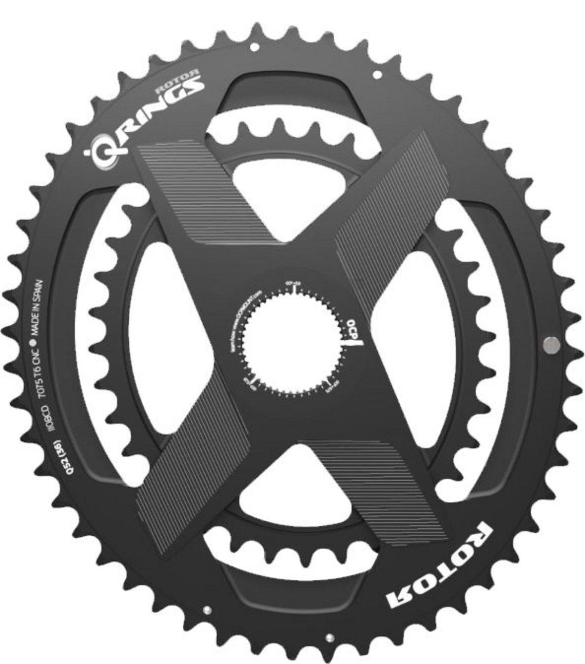 Rotor Aldhu Spider mit ovalen Q-Rings