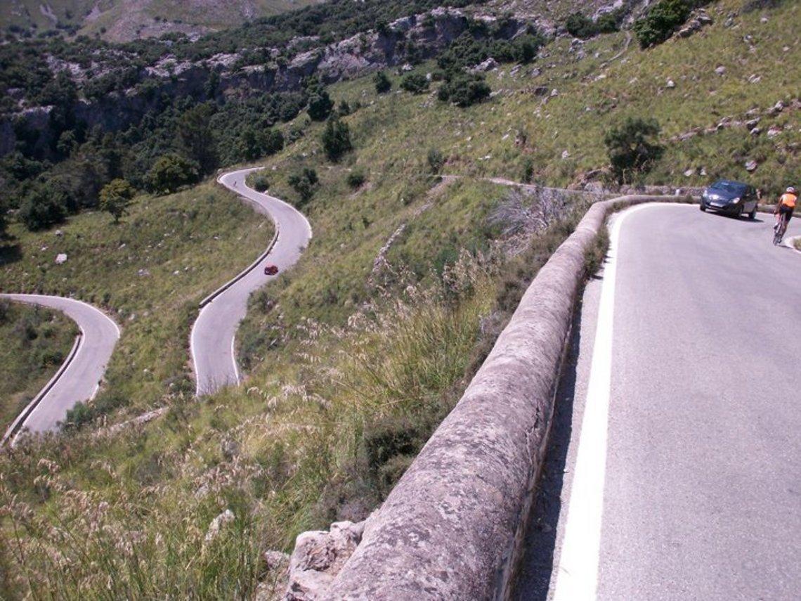 Hoch zum Coll dels Reis, Mallorca 06/11