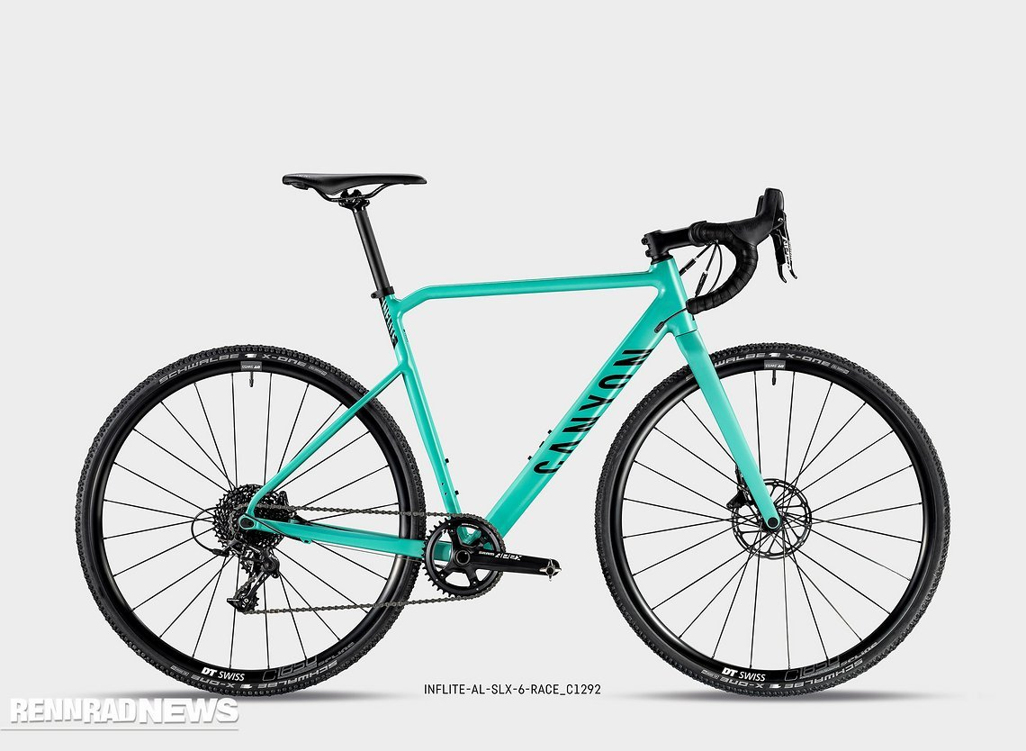 Canyon Inflite AL SLX 2019: in Hot Mint...