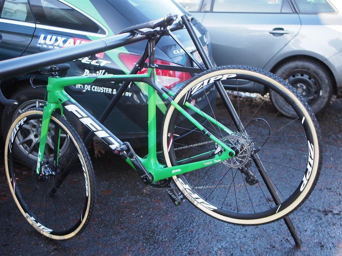 Das Felt Bike vom Team Crelan