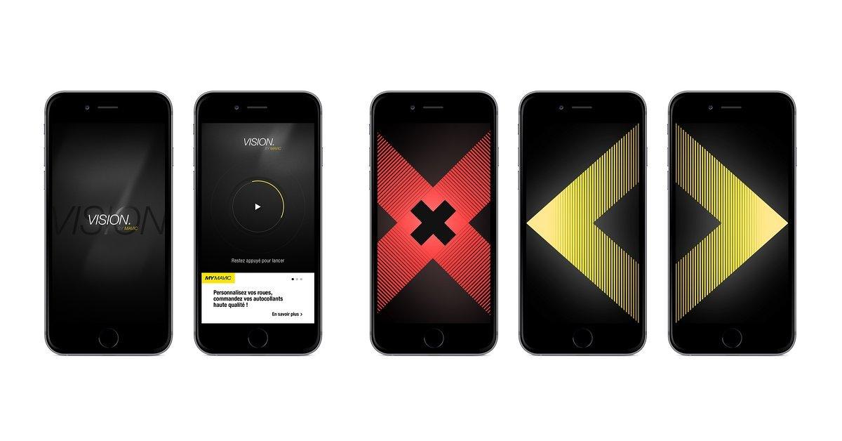 Mavic Vision App