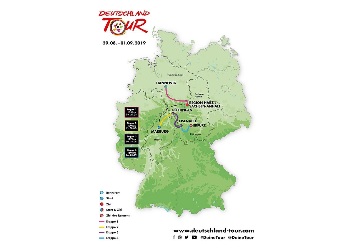 deutschland radtour 2020