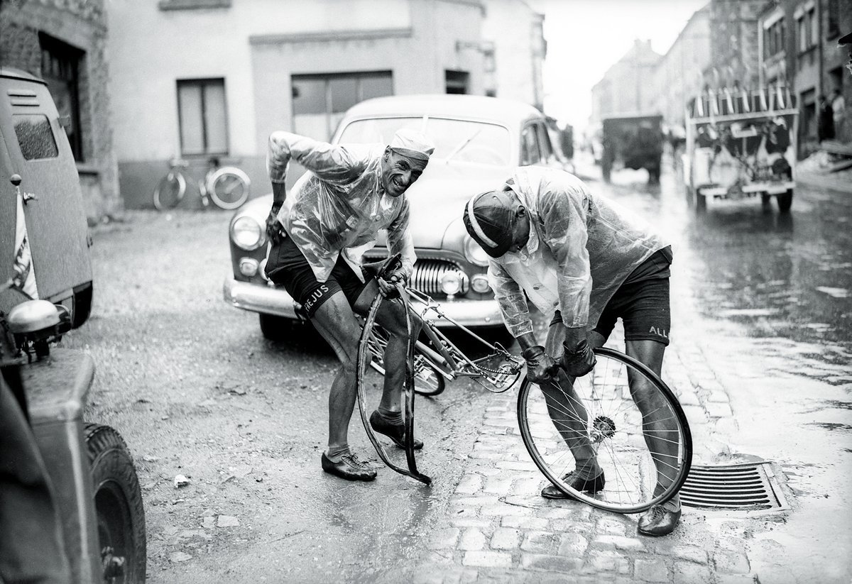 Ferdy Kübler, 1950, Photo © Presse Sports.