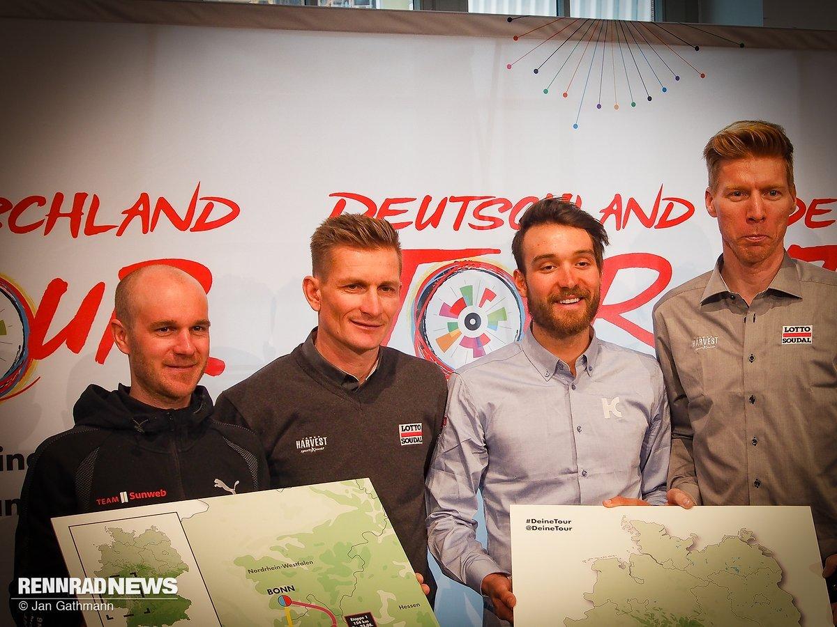 Deutschland Tour Strecke 2018