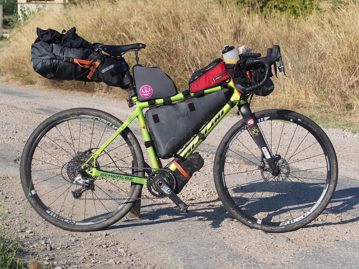 Nicolai Argon im Bikepacking Setup
