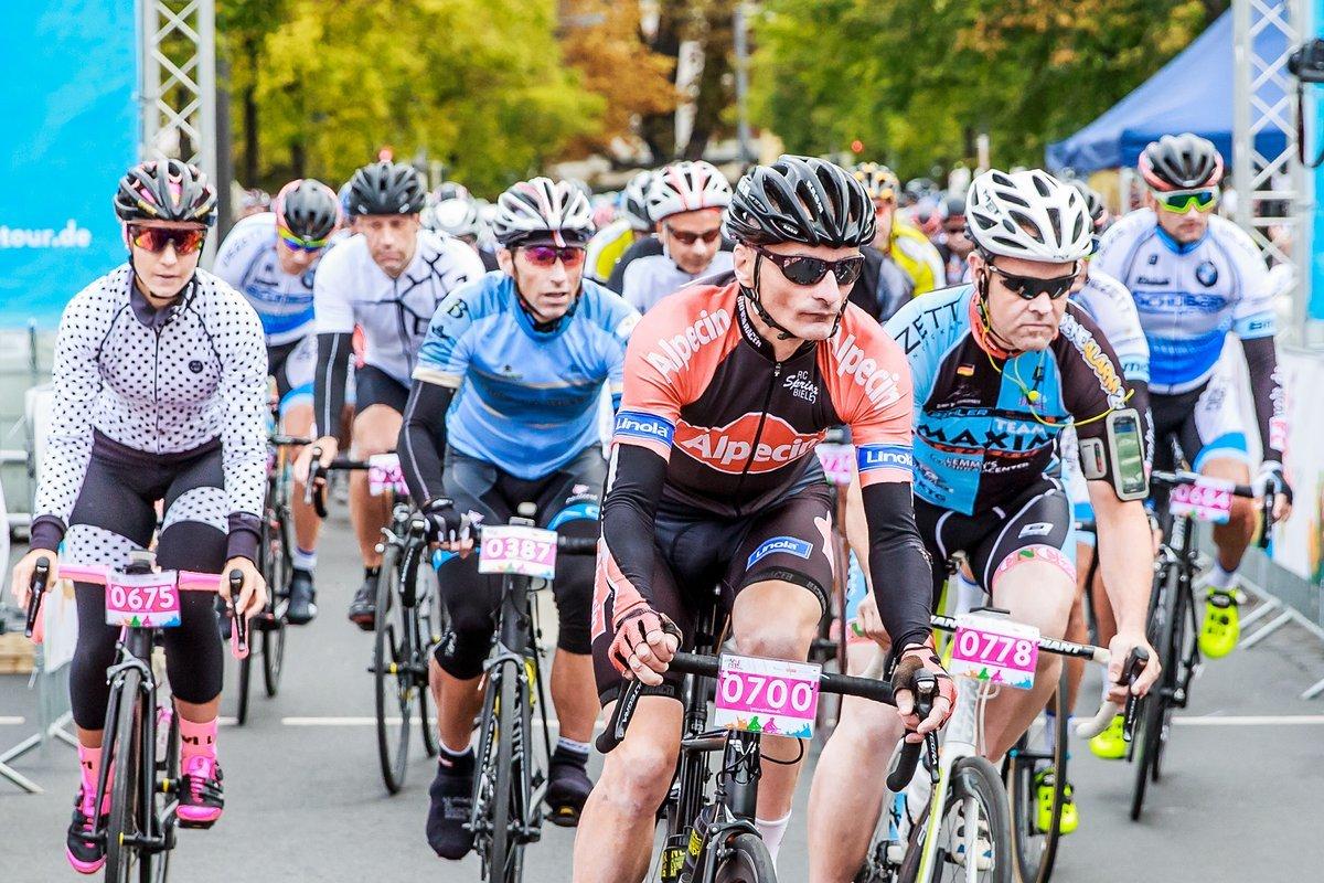 Starterfeld der Cycle Tour 2017