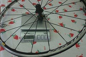 Ksyrium Elite Hinterrad ohne Schnellspanner u. Felgenband