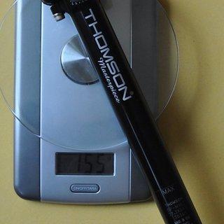 Gewicht Thomson Sattelstütze Masterpiece 27,2 x 240 mm