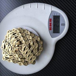 Gewicht KMC Chain Kette X9 L 1/2 x 1 1/128