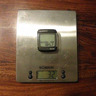 Gewicht Sigma Computer BC 2006 MHR