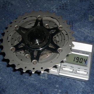 Gewicht Shimano Kassette Dura Ace CS-9000 11-fach 11-28
