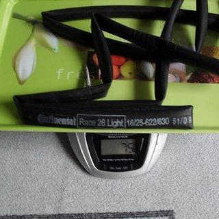 Gewicht Continental Schlauch Race 28 Light 700 x 18-25C