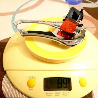 Gewicht Shimano Umwerfer Ultegra FD-R8000-F Anlötsockel 2x11