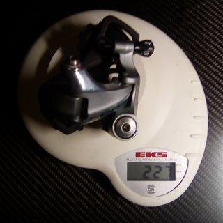 Gewicht Shimano Schaltwerk RD 5800