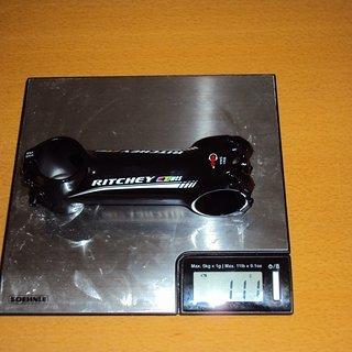Gewicht Ritchey Vorbau Ritchey WCS C260 Wet Black 31,9 100 mm Länge
