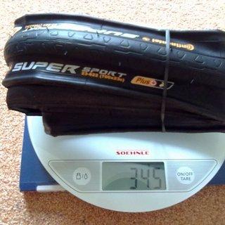 Gewicht Continental Reifen SuperSport Plus 700 x 23C