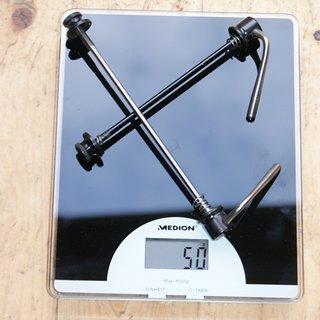 Gewicht Tune Schnellspanner AC14