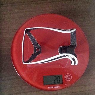 Gewicht BBB Flaschenhalter BBB LightCage Carbon Standart