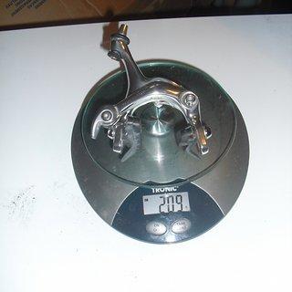 Gewicht Shimano Felgenbremse Dura Ace 7403 Hinterrad