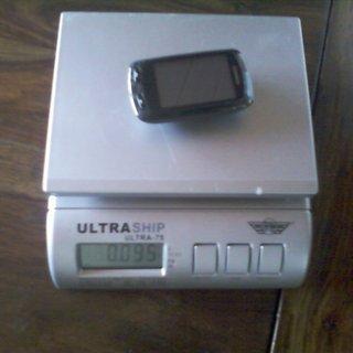 Gewicht Garmin GPS Edge 810 90x50 cm