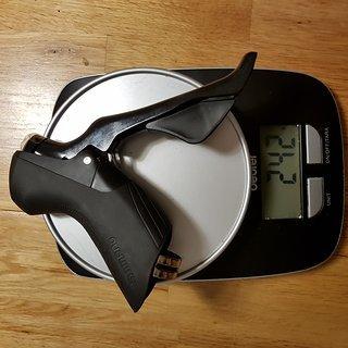 Gewicht Shimano Brems-/Schalthebel-Kombi ST-R7000 rechts