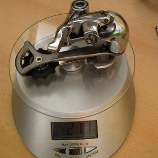 Gewicht Shimano Schaltwerk Ultegra 6600