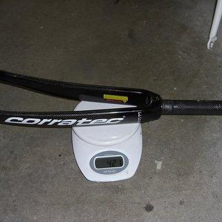 Gewicht Corratec Gabeln tria 700 c fork