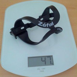 Gewicht Zefal Flaschenhalter Spring