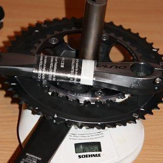 Gewicht Shimano Kurbelgarnitur FC-7950 170 mm