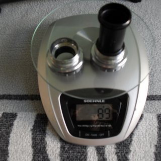 Gewicht Shimano Innenlager Dura Ace SM-BB 7900 BSA (1,37 x 24)