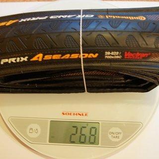 Gewicht Continental Reifen Grand Prix 4-Seasons 700 x 28C