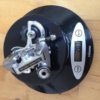 Gewicht Shimano Schaltwerk Dura Ace RD-7402