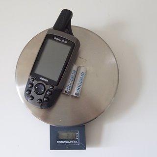 Gewicht Garmin GPS GPSmap 60CSx