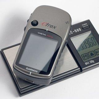 Gewicht Garmin GPS Etrex Vista Hcx