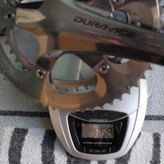 Gewicht Shimano Kurbelgarnitur Dura Ace FC-7800 175mm 53-39