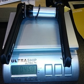Gewicht Rotor Kurbel Rotor 3D+ 172,5
