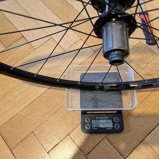 Gewicht Cube Systemlaufräder XC 0.8 Disc HR 700c