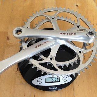 Gewicht Shimano Kurbelgarnitur Dura Ace FC-7410 175mm