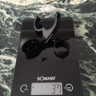 Gewicht Garmin Computer Edge 1000 Aero-Lenkerhalterung