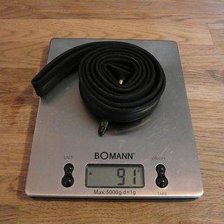 Gewicht Vittoria S.p.A. Schlauch Ultralite 19/23 Langventil  19/23-622
