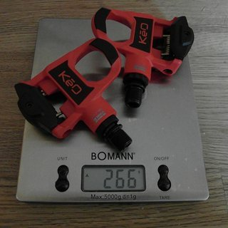 Gewicht Look Pedale KEO Classic