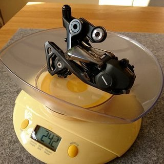 Gewicht Shimano Schaltwerk Ultegra RD-RX800 GS