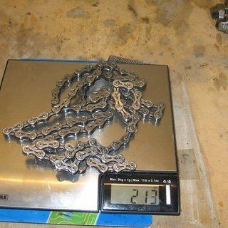 Gewicht KMC Chain Kette KMC 9 SL