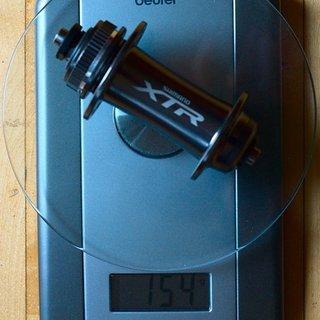 Gewicht Shimano Nabe XTR HB-M965 100mm 32°