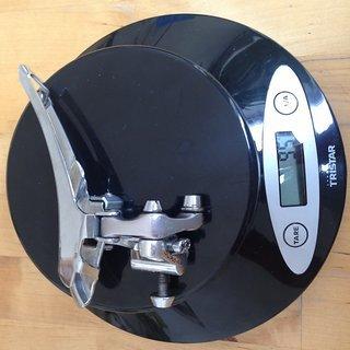 Gewicht Shimano Umwerfer Dura Ace FD-7403