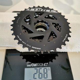 Gewicht SRAM Kassette XG-1270 10-33