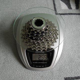 Gewicht Shimano Kassette 105 CS 5600 12-27
