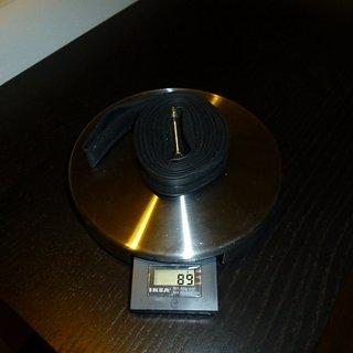 Gewicht Vittoria S.p.A. Schlauch Ultralite 19/23 Normalventil 19/23-622