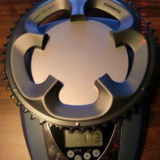 Gewicht Shimano Kettenblatt SG-X 50-F Compakt 50 Zähne
